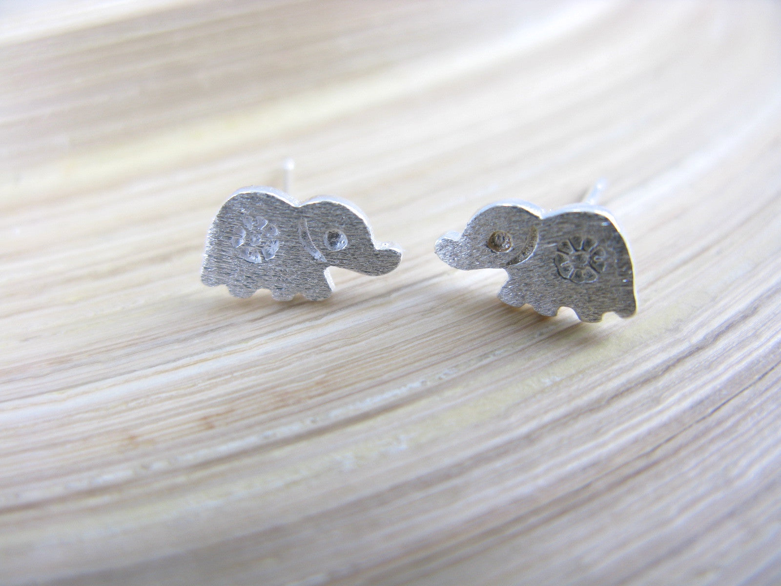 Elephatn 925 Sterling Silver Stud Earrings Stud - Faith Owl
