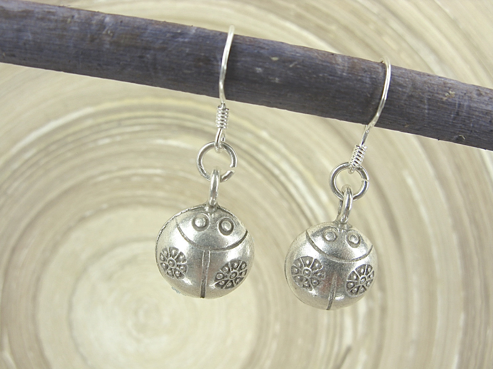Ladybuy Tribal Dangle 925 Sterling Silver Earrings Earrings Faith Owl - Faith Owl