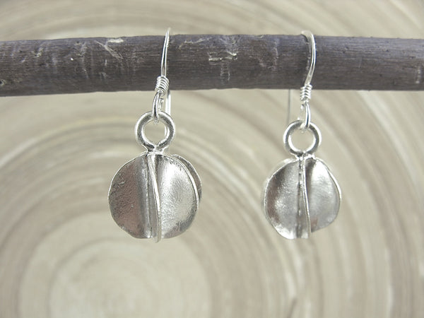 Ball Tribal Swirl Dangle 925 Sterling Silver Earrings Earrings - Faith Owl