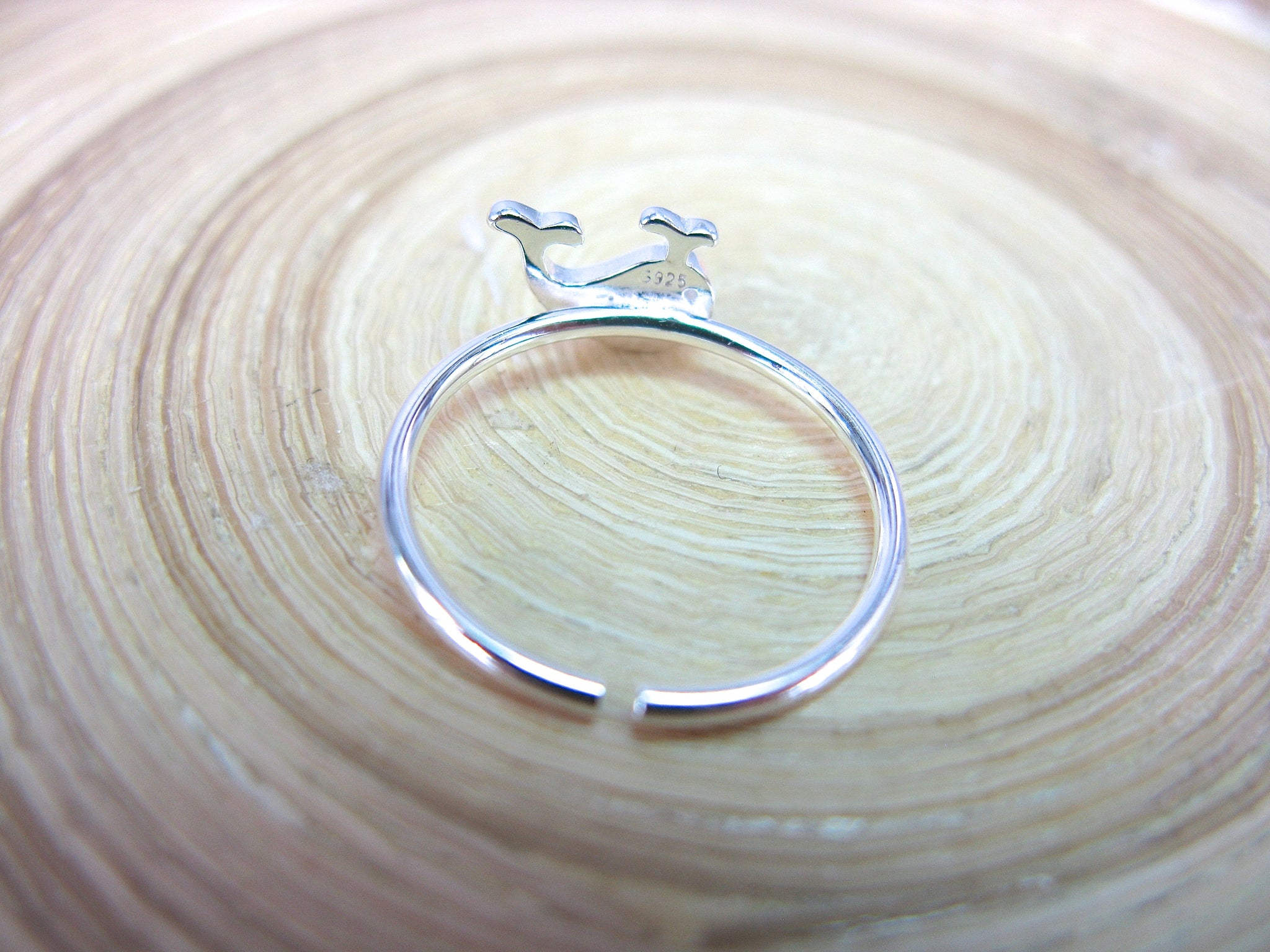 Whale Ring in 925 Sterling Silver