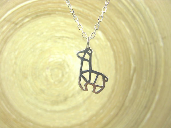 Alpaca Filigree Pendant Necklace in 925 Sterling Silver