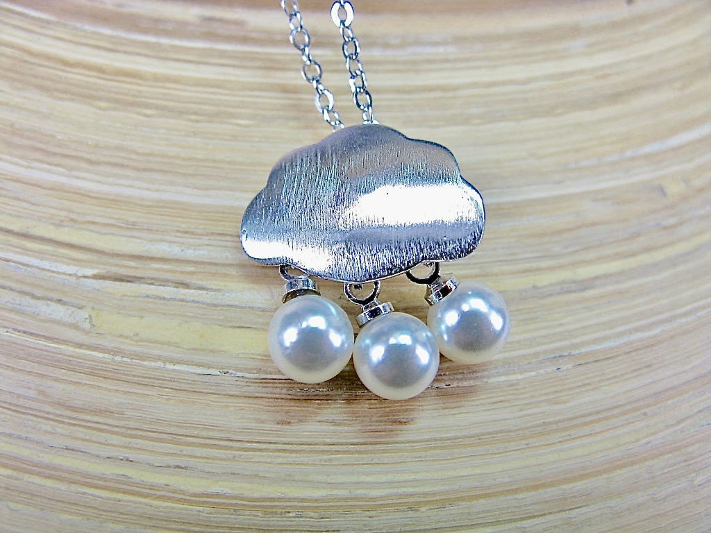 Cloud 925 Sterling Silver Pendant Necklace