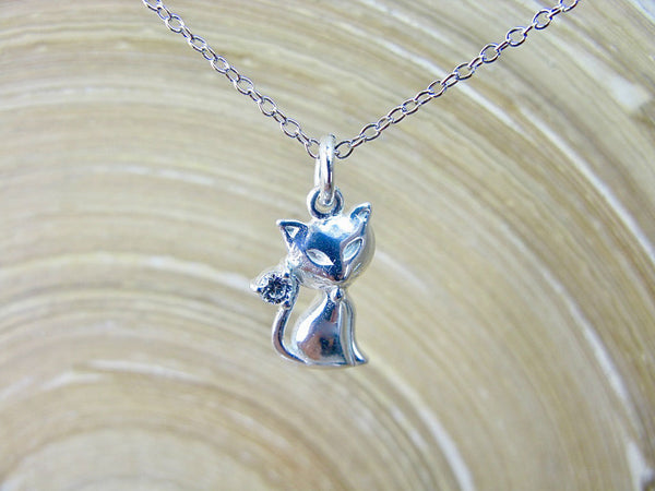 Cat 925 Sterling Silver Pendant