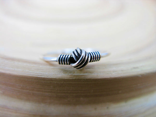 Balinese Oxidized Ring in 925 Sterling Silver