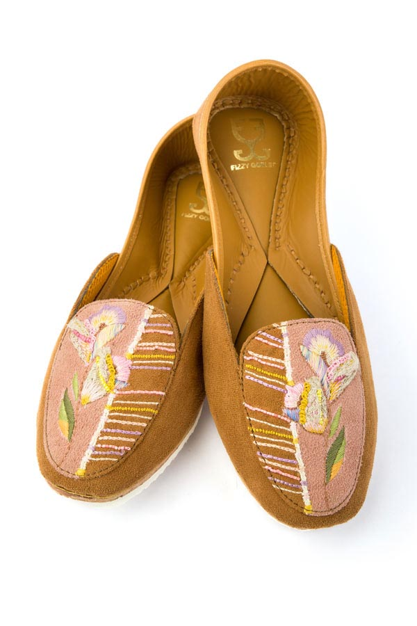 Suede Tulip- Loafers