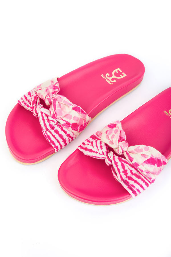Bubblegum Sliders- Pink