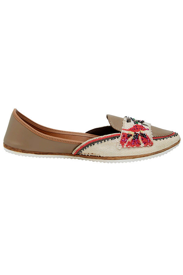 Poppy Power - Monk Loafers