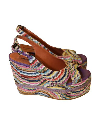 MISSONI Wadges shoes