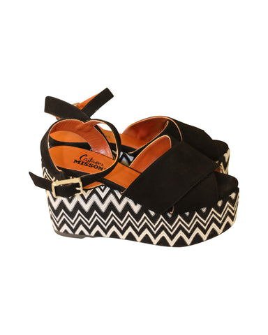 Missoni x Castañer wedges