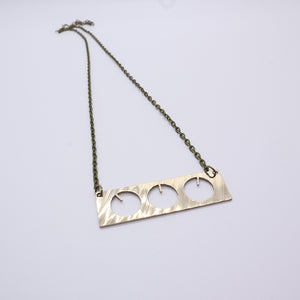 BMT - Reclaimed Cymbal Necklace