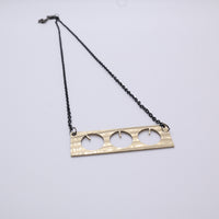 Load image into Gallery viewer, BMT - Reclaimed Cymbal Necklace
