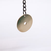 Load image into Gallery viewer, Circle Keychain - Reclaimed Cymbal Accessory