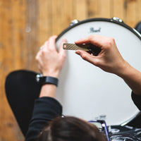 Load image into Gallery viewer, Drum Key - Reclaimed Cymbal Accessory