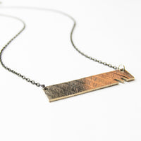 Load image into Gallery viewer, Edge - Reclaimed Cymbal Necklace