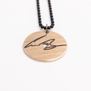 Gabe Barham Circle Cymbal Necklace