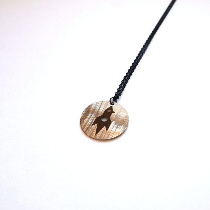 Jessica Burdeaux Rocket Circle Necklace