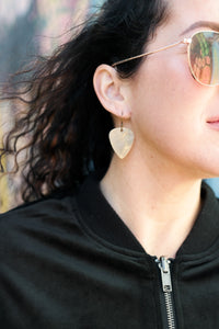 Arpeggio - Reclaimed Cymbal Earrings