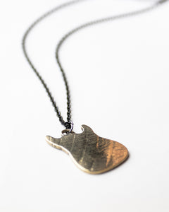 Strat - Reclaimed Cymbal Necklace
