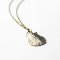 Load image into Gallery viewer, Les - Reclaimed Cymbal Necklace