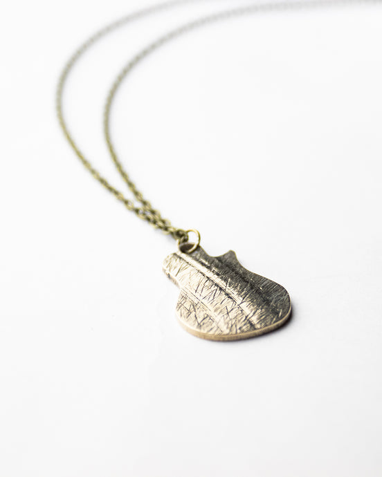 Les - Reclaimed Cymbal Necklace