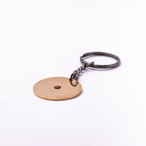 Circle Keychain - Reclaimed Cymbal Accessory