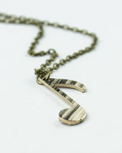 Off Beat - Reclaimed Cymbal Necklace
