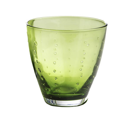 GREEN OLD FASHIONED GLASS
