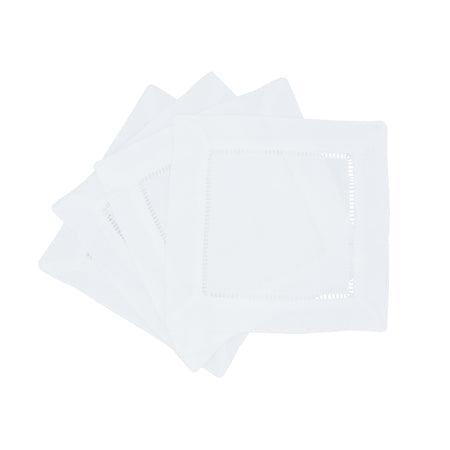 HEMSTICHED COCKTAIL NAPKINS