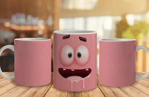 Spongebob Ceramic Mug, 350 Ml