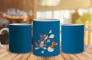Tom$Jerry 2 Ceramic Mug, 350 Ml