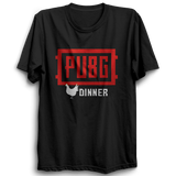 Unisex PUBG 02  Playerunknown's Battlegrounds Half Sleeve  100 % Cotton Tshirts