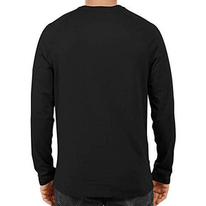 Unisex Minato Full Sleeve Black Cotton Tshirts