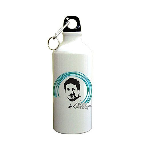 Sachin Tendulkar Printed Sipper (600ml, Aluminium)