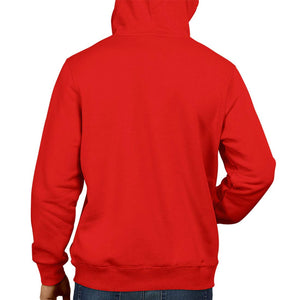 Inferno PUBG-12-Eat Sleep Loot Repeat 2 Red -Hoodie | Gameing Unisex Sweatshirt  Jacket 100% Cotton Hoodie (Red)