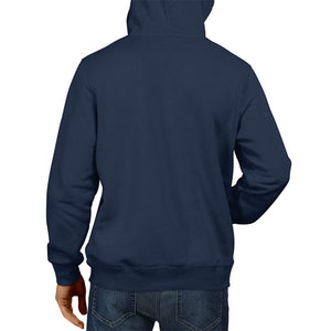 Inferno PUBG-15-I Want to Pochinki Gameing Hoodie Navy Blue | Gameing Unisex Sweatshirt  Jacket 100% Cotton Hoodie (Blue)