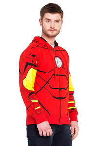 Super Hero Ironmen Printed Designer Endgame Unisex 100% Cotton Printed Desgion Hoodie (multi)
