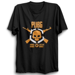 Unisex PUBG 07Playerunknown's Battlegrounds Half Sleeve  100 % Cotton Tshirts