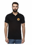 Unisex Bjp Logo Polo  Black T-shirt