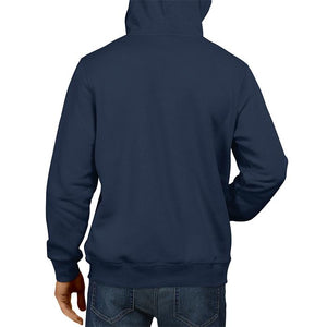 Who Dare Wins Navy Blue Hoodie Unisex 100% Cotton Printed Hoodie ( Blue)