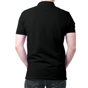 Indian Army Logo Polo 100 % T-Shirt Black