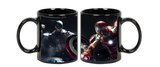 Captain America Ceramic  Black  Mug, 350 Ml