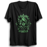 Emerald Archer Half Sleeve Black