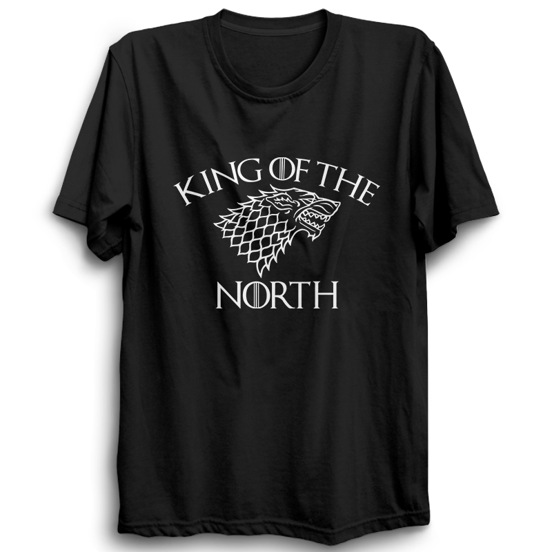 GOT-19 King Of The North Half Sleeve Black