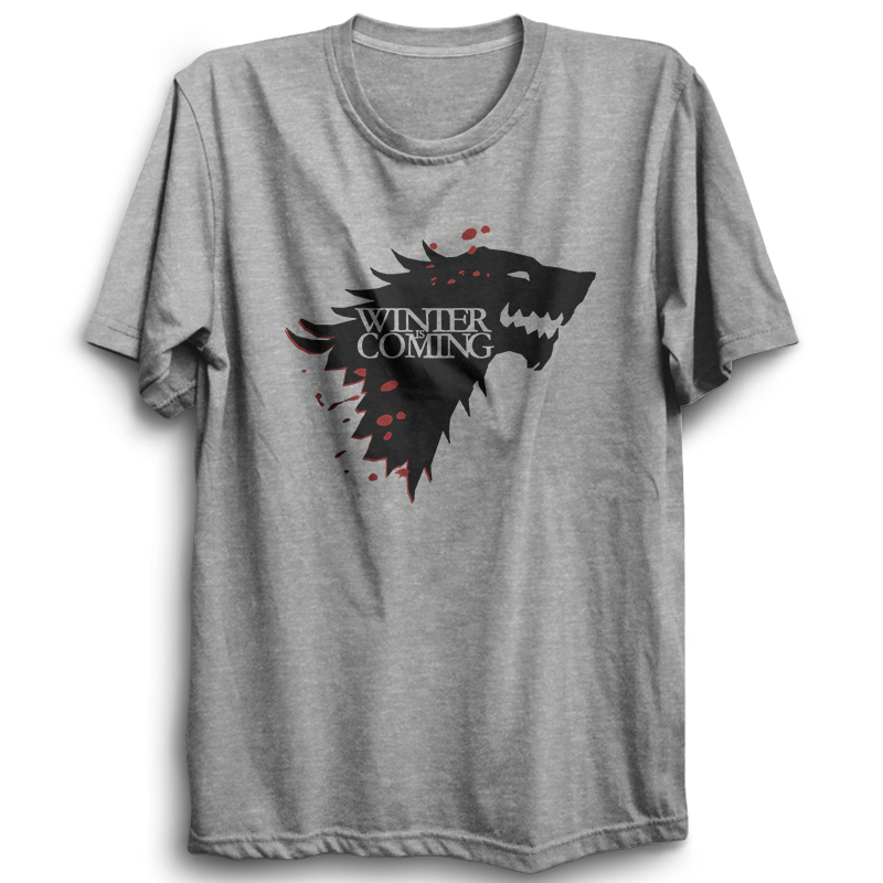 GOT-48 The North Remembers Half Sleeve Black
