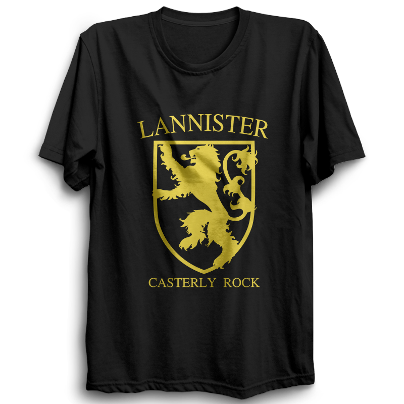 GOT-44 Lannister Half Sleeve Black