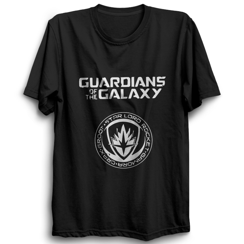 Guardians Of The Galaxy Half Sleeve Black