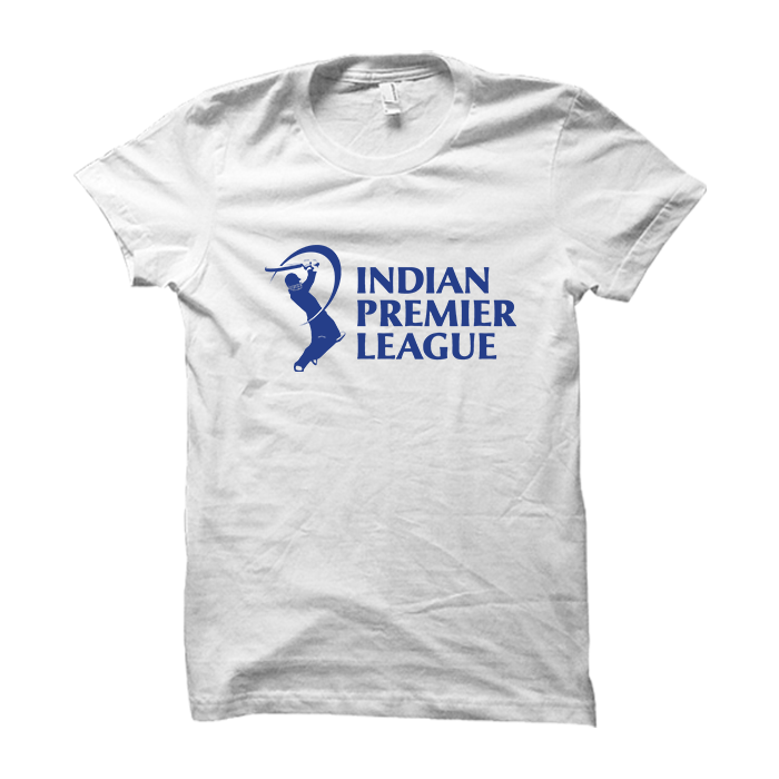 IPL 03 - Indian Premier League -Half Sleeve White