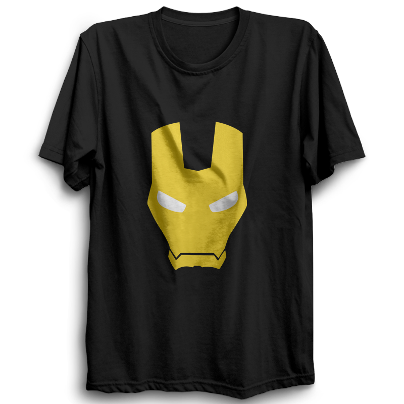 Ironman Half Sleeve Black