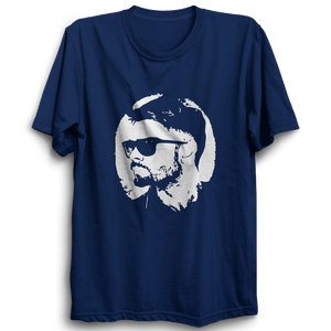 CRIC 18 -Kohli Face-Half Sleeve-Navy Blue