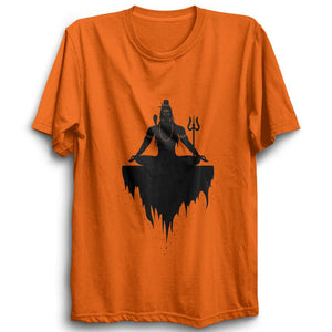 Mahadev -Half Sleeve Orange